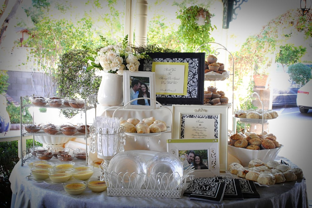 Madison Avenue Catering dessert table