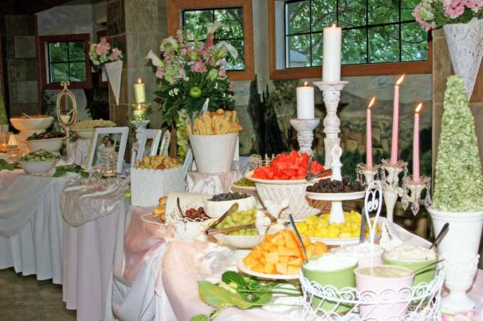 Madison Avenue Catering Wedding Buffet